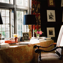 Фотография: Кабинет в стиле Кантри, Декор интерьера, Декор дома – фото на InMyRoom.ru