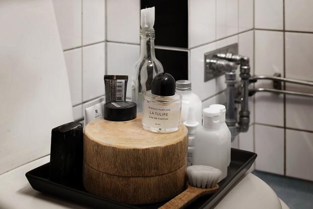 Фотография: Ванная в стиле Скандинавский, Малогабаритная квартира, Квартира, Дома и квартиры – фото на InMyRoom.ru
