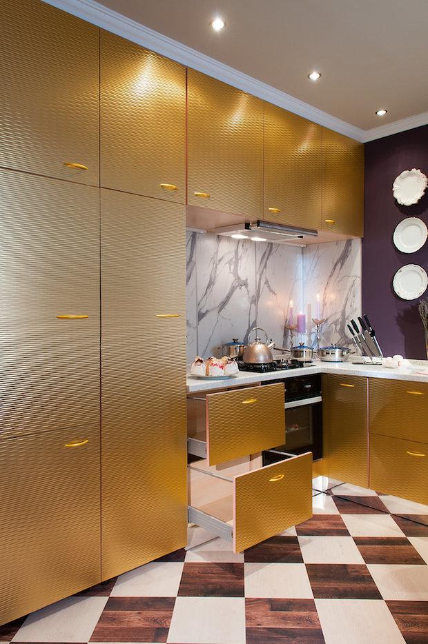 Фотография: Кухня и столовая в стиле Эклектика, Гостиная, Дом, Дома и квартиры – фото на InMyRoom.ru