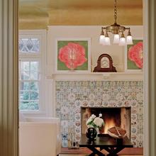 Фотография: Декор в стиле Кантри, Декор интерьера, DIY, Дом, Декор дома, Цвет в интерьере, Обои – фото на InMyRoom.ru