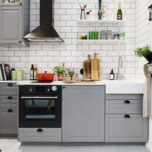 Фотография: Кухня и столовая в стиле Скандинавский, Студия, Советы, Белый – фото на InMyRoom.ru