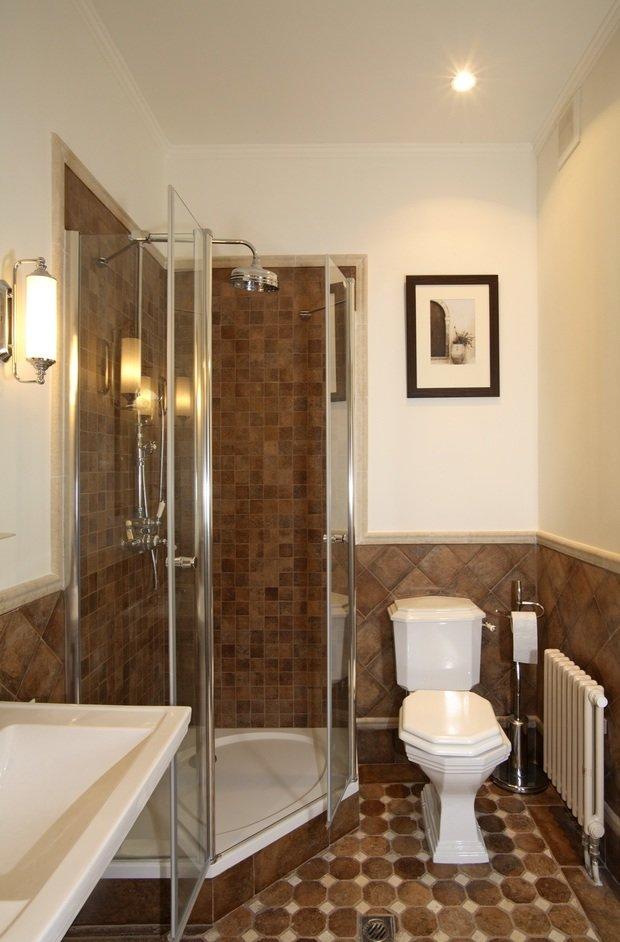 Фотография: Ванная в стиле Классический, Современный, Квартира, Дома и квартиры – фото на InMyRoom.ru