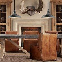 Фотография: Мебель и свет в стиле Кантри, Кухня и столовая, Дизайн интерьера – фото на InMyRoom.ru