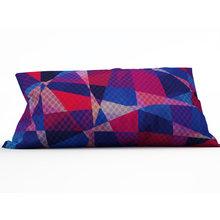 Декоративная подушка: Цветные лоскутки