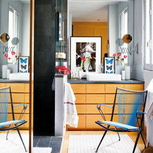 Фотография: Ванная в стиле Скандинавский, Квартира, Дома и квартиры – фото на InMyRoom.ru