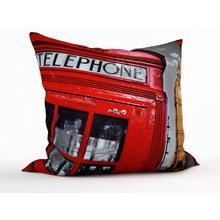 Декоративная подушка: Лондонский телефон