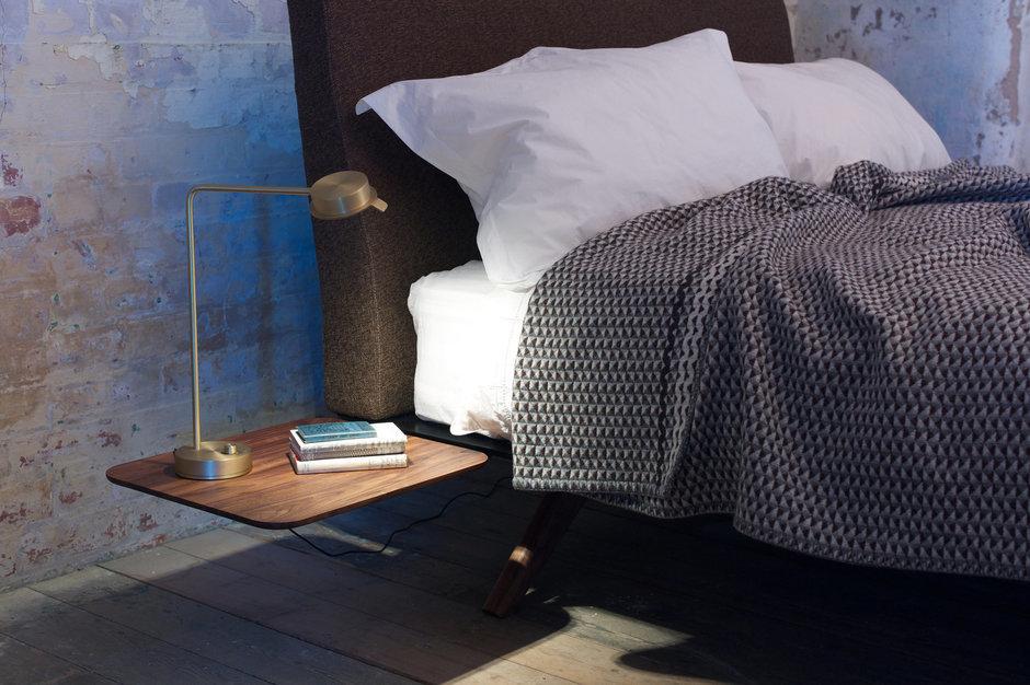 Фотография: Спальня в стиле Лофт, Современный, Скандинавский, Эклектика, Декор интерьера, Мебель и свет – фото на InMyRoom.ru