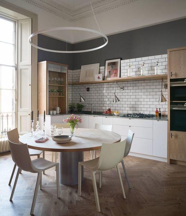 Фотография: Кухня и столовая в стиле Скандинавский, Декор интерьера, Квартира, Англия – фото на InMyRoom.ru