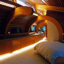 Фотография: Спальня в стиле Современный, Эклектика, Декор интерьера, Дом, Дома и квартиры, Архитектурные объекты, Япония – фото на InMyRoom.ru