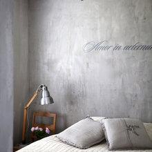 Фотография: Спальня в стиле Лофт, Декор интерьера, Декор дома, Стены – фото на InMyRoom.ru