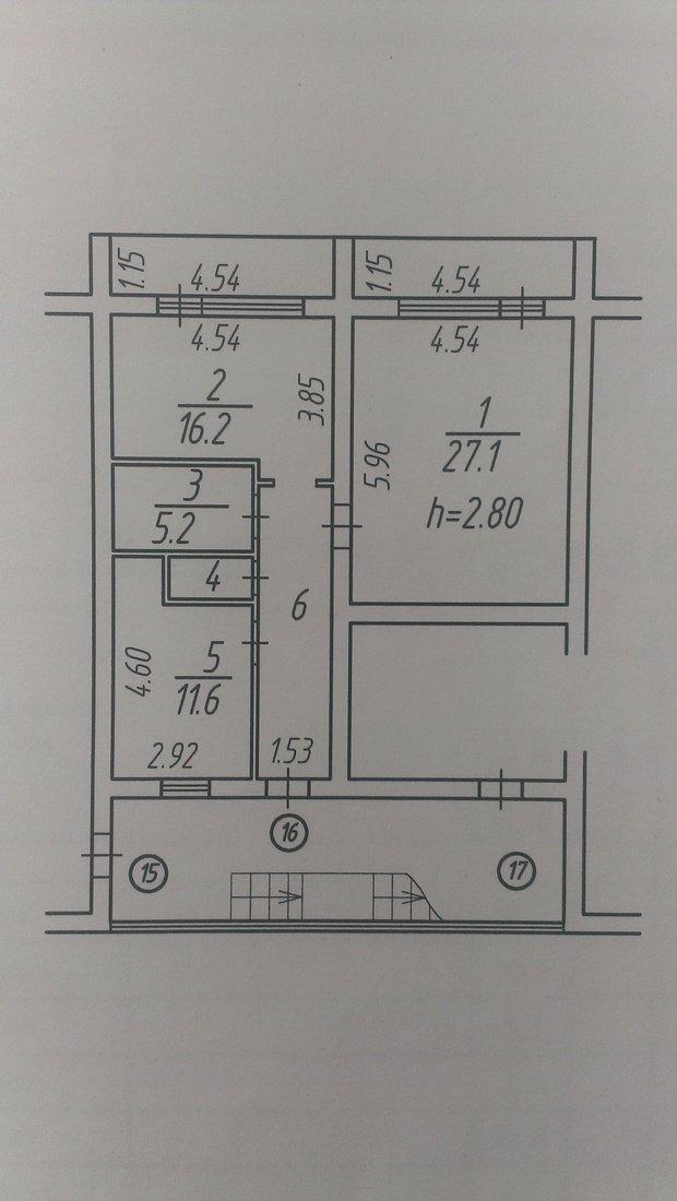 Помогите с перепланировкой двухкомнатной квартиры 80,5 м