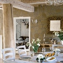 Фотография: Кухня и столовая в стиле Кантри, Скандинавский,  – фото на InMyRoom.ru
