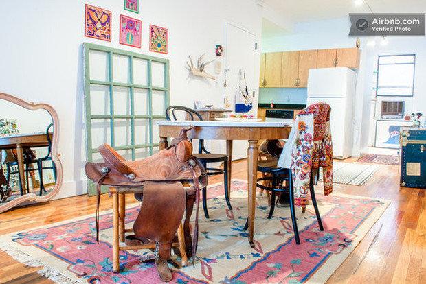 Фотография: Спальня в стиле Скандинавский, Современный, Airbnb – фото на InMyRoom.ru