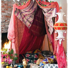 Фотография: Аксессуары в стиле Кантри, Декор интерьера, Дом, Декор дома, Цвет в интерьере – фото на InMyRoom.ru