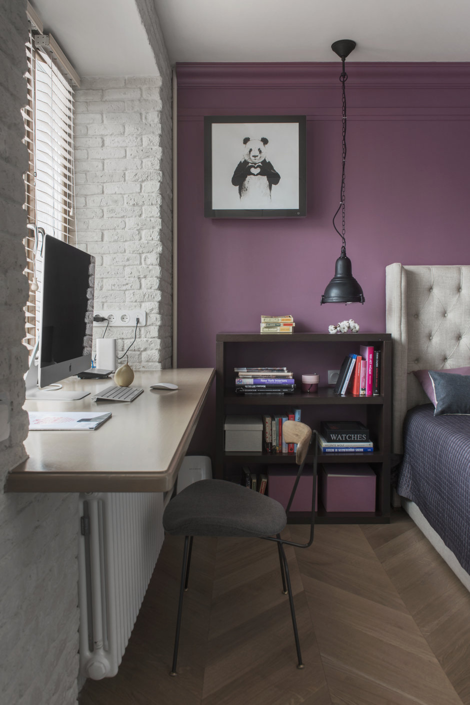 Фотография: в стиле , Квартира, Проект недели, Москва, Кирпичный дом, 3 комнаты, 40-60 метров, Маша Кунякина – фото на InMyRoom.ru