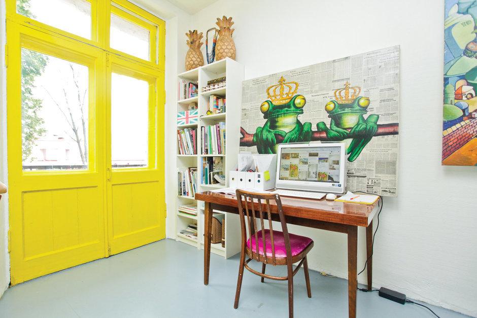 Фотография: Кабинет, Декор в стиле Скандинавский, Квартира, Дома и квартиры, IKEA – фото на InMyRoom.ru