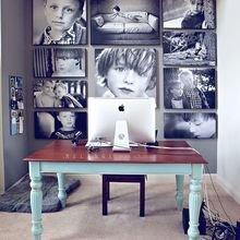 Фотография: Офис в стиле Эклектика, Кабинет, Интерьер комнат – фото на InMyRoom.ru