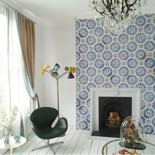Фотография: Гостиная в стиле Скандинавский, Декор интерьера, Декор дома, Марокканский – фото на InMyRoom.ru