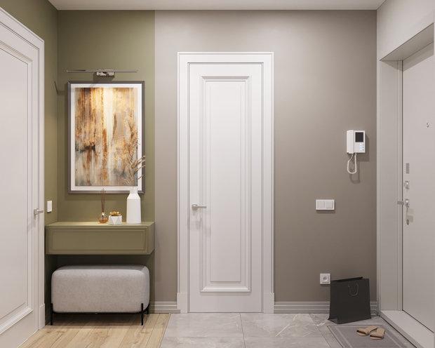 Фотография: Прихожая в стиле Современный, Квартира, Проект недели, Москва, 2 комнаты, 40-60 метров – фото на INMYROOM