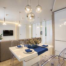 Фото из портфолио Проект 97 Двухкомнатная квартира для молодой семьи – фотографии дизайна интерьеров на InMyRoom.ru