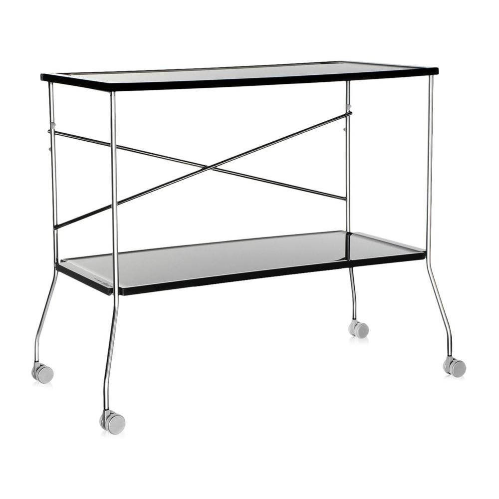 Сервировочный столик Flip черного цвета
