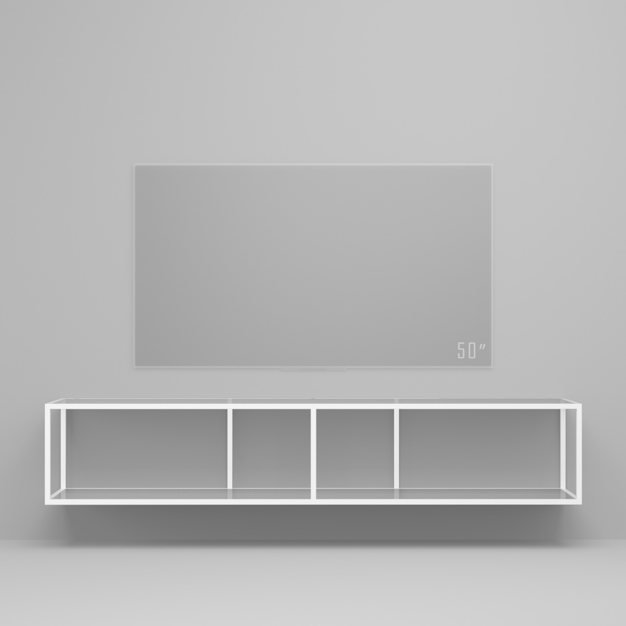 Тумба tv Stand Lite White