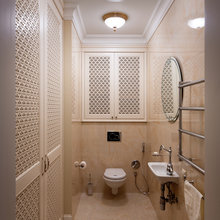 Фотография: Ванная в стиле Классический, Квартира, Дома и квартиры, Пентхаус – фото на InMyRoom.ru