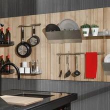 Фотография: Кухня и столовая в стиле Лофт, Квартира, Советы, Уютная квартира, кухня в хрущевке, как обустроить кухню в хрущевке, малометражная кухня, зонирование кухни в хрущевке – фото на InMyRoom.ru