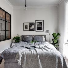 Фото из портфолио Монохромный интерьер на 57 квадратах в Швеции – фотографии дизайна интерьеров на INMYROOM