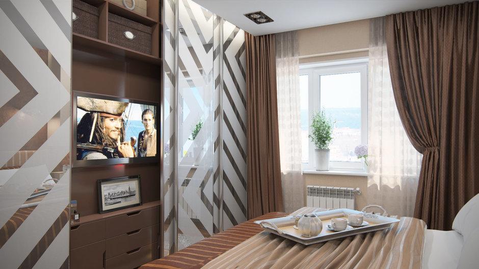 Фотография: Спальня в стиле Современный, Декор интерьера, Квартира, Дома и квартиры, Проект недели, Ligne Roset – фото на InMyRoom.ru