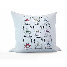 Декоративная подушка: Усики