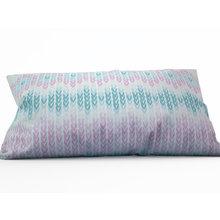 Декоративная подушка: Вязанный узор