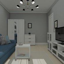 Фото из портфолио Современная квартира – фотографии дизайна интерьеров на INMYROOM