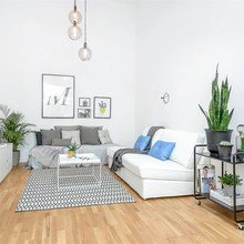 Фото из портфолио 4-х метровые потолки- ощущение фантастического пространства – фотографии дизайна интерьеров на InMyRoom.ru