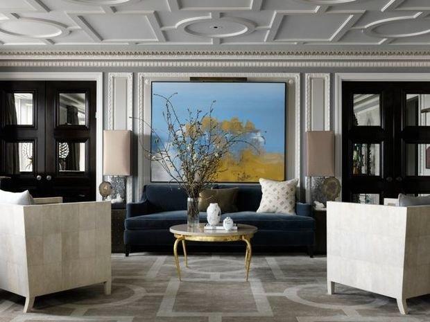 Фотография: Гостиная в стиле Классический, Современный, Гид, Жан-Луи Денио – фото на InMyRoom.ru