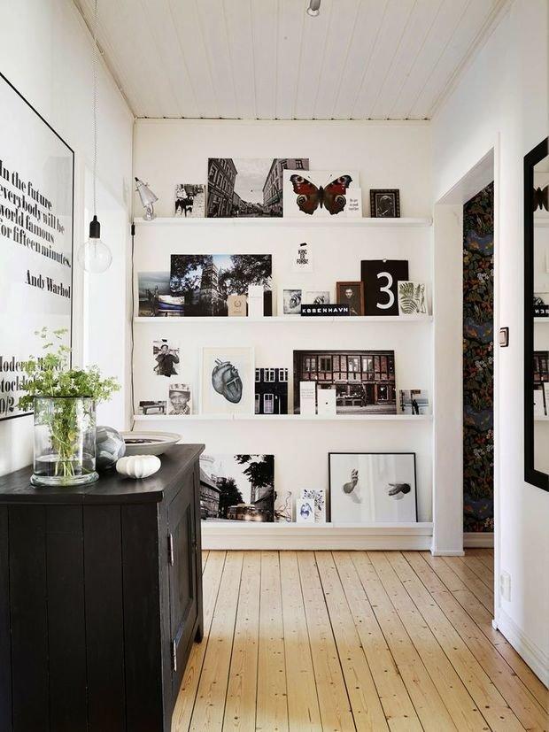 Фотография: Прихожая в стиле Скандинавский, Интерьер комнат, Ковер, Шкаф – фото на InMyRoom.ru