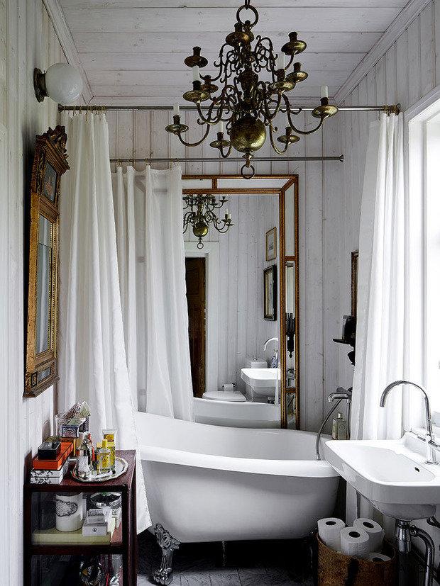 Фотография: Ванная в стиле Прованс и Кантри,  – фото на INMYROOM