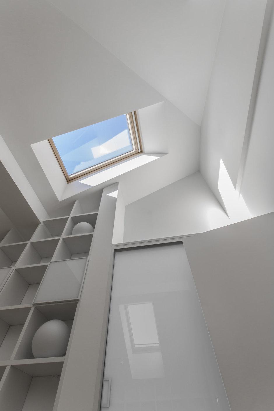 Фотография:  в стиле , Квартира, BoConcept, Дома и квартиры, Белый, IKEA, Проект недели, Мансарда – фото на InMyRoom.ru