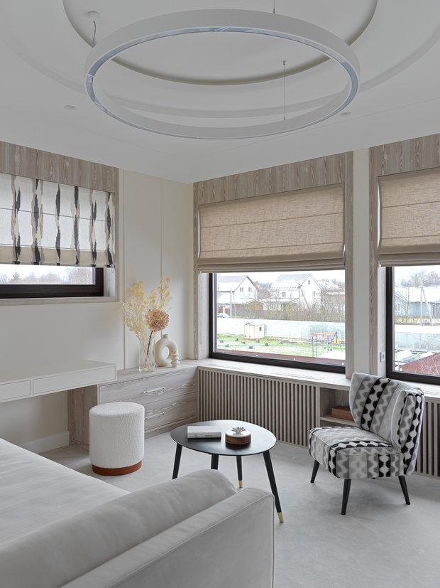 Фото из портфолио Проект загородного дома 260м² г. Павловск – фотографии дизайна интерьеров на INMYROOM