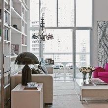 Фотография: Гостиная в стиле Скандинавский, Квартира, Цвет в интерьере, Дома и квартиры – фото на InMyRoom.ru