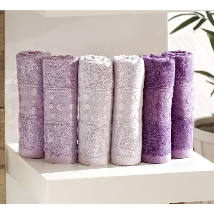 Набор лицевых полотенец 6 шт PUNTOS 30х50, набор лицевых полотенец