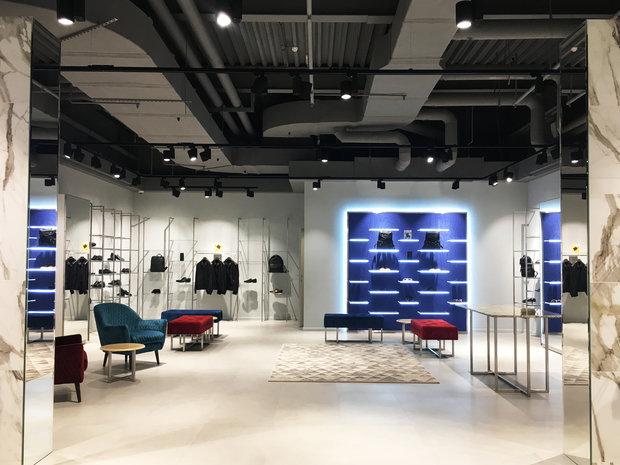Фото из портфолио Дизайн-проект магазина «a.testoni» тц Крокус Сити Молл. – фотографии дизайна интерьеров на INMYROOM