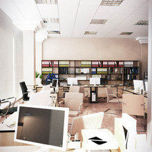 """Фото из портфолио Бизнес-центр """"ГринПарк"""" – фотографии дизайна интерьеров на InMyRoom.ru"""