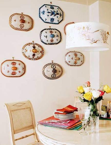 Фотография: Декор в стиле Восточный, Декор интерьера, Декор дома, Цвет в интерьере, Обои – фото на InMyRoom.ru