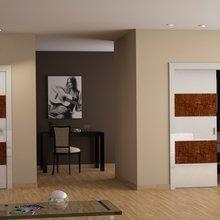 Фото из портфолио Проекты интерьеров с применением дверей итальянских производителей. – фотографии дизайна интерьеров на InMyRoom.ru