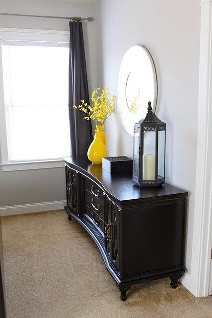 Фотография: Спальня в стиле Восточный, Декор интерьера, Дизайн интерьера, Цвет в интерьере, Желтый – фото на InMyRoom.ru