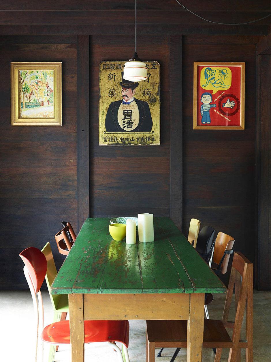 Фотография: Кухня и столовая в стиле Прованс и Кантри, Современный, Эклектика, Декор интерьера, Дом, Дома и квартиры, Архитектурные объекты – фото на InMyRoom.ru