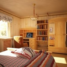 Фотография: Спальня в стиле Кантри, Современный, Дом, Дома и квартиры – фото на InMyRoom.ru