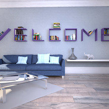Фото из портфолио Flex Shelf – фотографии дизайна интерьеров на INMYROOM
