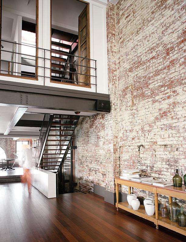Фото из портфолио Квартира в три этажа с видом на Нью-Йорк!!! – фотографии дизайна интерьеров на INMYROOM